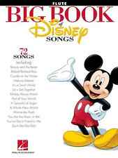 "THE BIG BOOK OF ""DISNEY SONGS""-FLUTE MUSIC BOOK BRAND NEW ON SALE SONGBOOK!!"