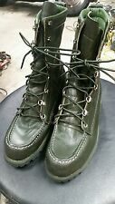 Vintage Ted Williams Sears Boot Hunting Sport Work Dark Green 6.5 B
