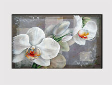 271 X LARGE CANVAS 18''x 32'' WALL ART ABSTRACT ORCHID FLOWERS PRINT PICTURE