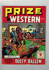 PRIZE WESTERN COMICS 1950s British edition - United Anglo American