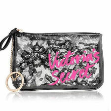 Victoria secret sexy lace cosmetic bag with hand hoop thin section