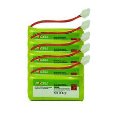 5 PC New Cordless Phone Battery NiMh AAA 800mAh 2.4V For VTech BT284342 BT184342