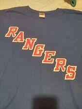 New York Rangers Adult T-Shirt 2012 Playoffs Size XL