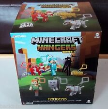 MINECRAFT-MOJANG-HANGERS-SERIES 2-LOT OF 24 PACKS-FULL UNTOUCHED CASE-BNIP,MINT!