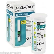 ACCU CHEK Active 100 ( 2 x 50 ) Test Strips FREE SHIPPING