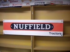 Nuffield tractor shed banner
