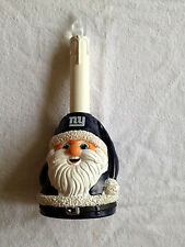 NY NEW YORK GIANTS SANTA LIGHT UP LED CANDLE CHRISTMAS ORNAMENT DECORATION NFL