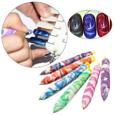 DIY Design Cat Eyes Magic Nail Art Magnetic Pen Snake Skin UV Gel Polish