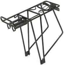 "BIKE PANNIER CARRIER XLC ALLOY BLACK CYCLE RACK SUITS 24""26""28"" WHEELS 50% OFF"