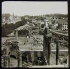 Glass Magic Lantern Slide VIEW OF THE FORUM ROME C1890 ROMA ITALY
