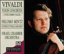 SHLOMO MINTZ - Vivaldi: Violin Concertos, Vol. 1 And 2 CD * NEW/ STILL SEALED *