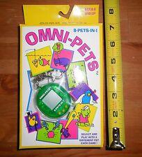 Vintage Omni-Pets 8 In 1 Keychain Pocket Game Giga Like NR