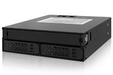 """New ICY Dock MB994IPO-3SB 2x Dual 2.5"""" SAS / SATA HDD + 1x Slim ODD Mobile Rack"""