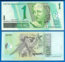 Brazil P-251 One Real Year Nd 2003 Hummingbirds Uncirculated Free Shipping