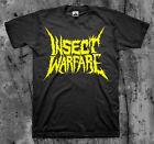 INSECT WARFARE 'Yellow Logo' T Shirt Nasum Phobia Napalm SOB