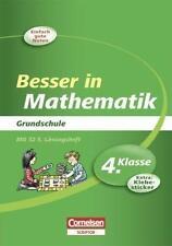 Besser in der Grundschule Mathematik 4. Schuljahr. Übungsbuch von Sabine Sprünke