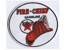 Texaco Fire Chief Gasoline Embroidered Cloth Garage Shirt Patch --  D020106