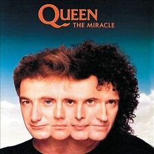 The Miracle [Deluxe Edition] by Queen (CD, Feb-2012, 2 Discs, Hollywood)