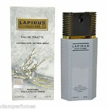 Lapidus Pour Homme by Ted Lapidus Cologne 3.3 / 3.4oz 100ml * New in Box *