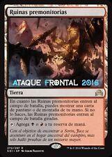 MTG RUINAS PREMONITORIAS - Foreboding Ruins - ESPAÑOL NM SOMBRAS INNISTRAD