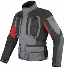 NEW DAINESE D-Stormer D-Dry Jacket MENS SIZE 52 Castle-Rock/Black/Red