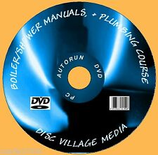 1700+ GAS BOILER SERVICE/ INSTALL MANUALS HEATING /PLUMBING & SHOWERS ETC PC DVD