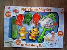 Baby Bath Toy BAG ANDARE PESCARE Play Set Storage / ordinato Kids attività Bathtime DUCK