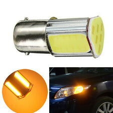 Super Bright Amber/Yellow 5W 1156 4 COB LED Turn Signal Rear Light Brake Lights
