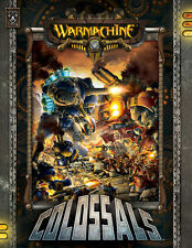 Warmachine Colossals Book Hard Cover English new