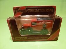 MATCHBOX YESTERYEAR Y-22 FORD MODEL A VAN 1930 - CANADA POST - EXCELLENT IN BOX