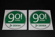 Dekra Jubiläum TÜV Test Aufkleber Sticker Decal Bapperl Kleber Logo Schriftzug