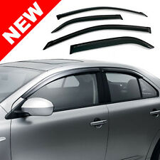 98-05 LEXUS GS300/GS400/GS430 TINTED WINDOW VISORS - 4 PIECE SET