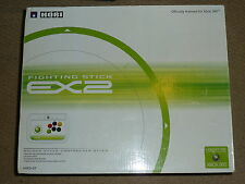 MICROSOFT XBOX 360 HORI ex2 Fighting STICK JOYSTICK USB GIOIA Fight ARCADE Bianco B