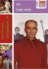 Louis De Funes. Collection 4.  French. Optional English subtitle NTSC and PAL
