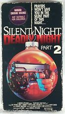 Silent Night, Deadly Night - Pt. 2 (VHS, 1987) Horror, Rare, Eric Freeman