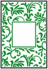 Crafts Too A6 Embossing Folder FLORAL FRAME CTFD3047