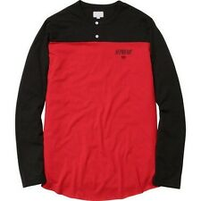 SUPREME 2-Tone Henley Red M Box Logo 2012 kate moss 3 6 mafia F/W 13 camp cap
