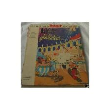 ASTERIX GLADIATEUR par Texte René GOSCINNY Dessin Albert UDERZO Ed. DARGAUD 1971