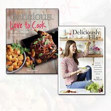 Ella Woodward Deliciously Ella Collection Delicious Love to Cook 2 Books Set NEW