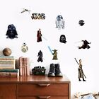 Star Wars Yoda Vader Removable Wall Stickers Decal Decals Art Kid Boy Room Decor
