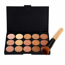 Code #2 Concealer Contour 15 Colours Camouflage Professional Make Up FREE Brush