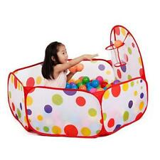 Surgissant Héxagonale à pois Enfants Bille Play Piscine Tente Transport