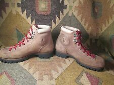 VTG Ladies VASQUE Mountaineering Hiking Leather Backpacking Camping Boots 8 N