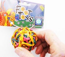 03340 String Ball Foot Bird Toy Parrot Foraging Foot Craft Part talon Cage Chewy