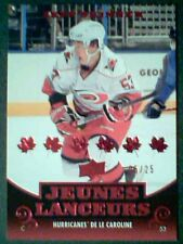 JEFF SKINNER 10/11 UDS1 FRENCH RED YOUNG GUNS CARD  05/25 SP