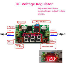 LED Display DC 4V-40V 3.3V 5V 12V 24v 3A Step down Voltage Regulator buck Module