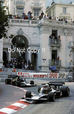 Tom Pryce & Jean-Pierre Jarier UOP Shadow DN5 Monaco Grand Prix 1975 Photograph