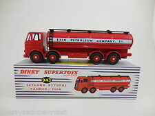 Atlas No.943 Dinky Leyland Octopus Esso Tanker unopened mint/bxd + Dinky Badge