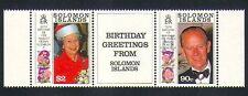 Solomons 1999 Royals/Royalty/Queen Elizabeth II/Prince Philip 2v set (n33239d)