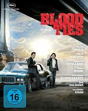 BLOOD TIES (Clive Owen, Billy Crudup, Mila Kunis) Blu-ray Disc, Steelbook NEU